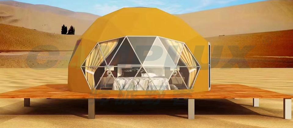野奢球型帐篷酒店全景展示