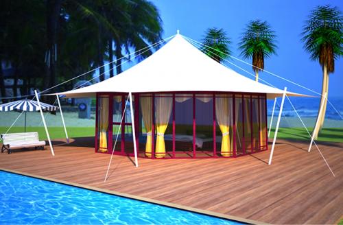 球型帐篷酒店视频