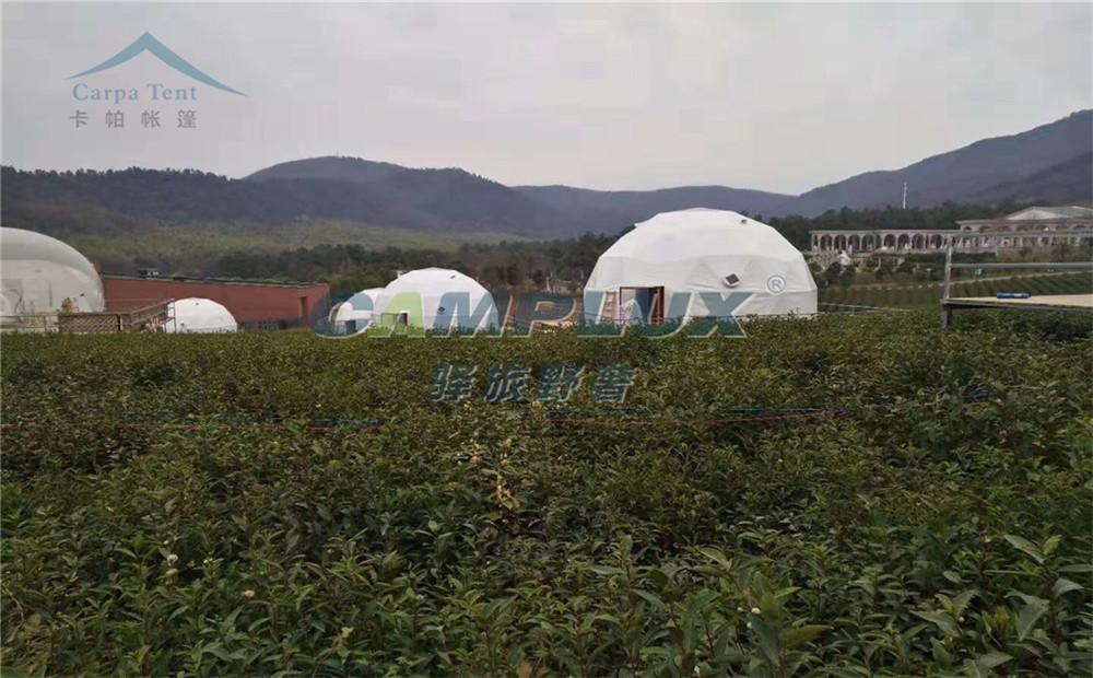 丽江玉龙县度假景区6米星空帐篷酒店