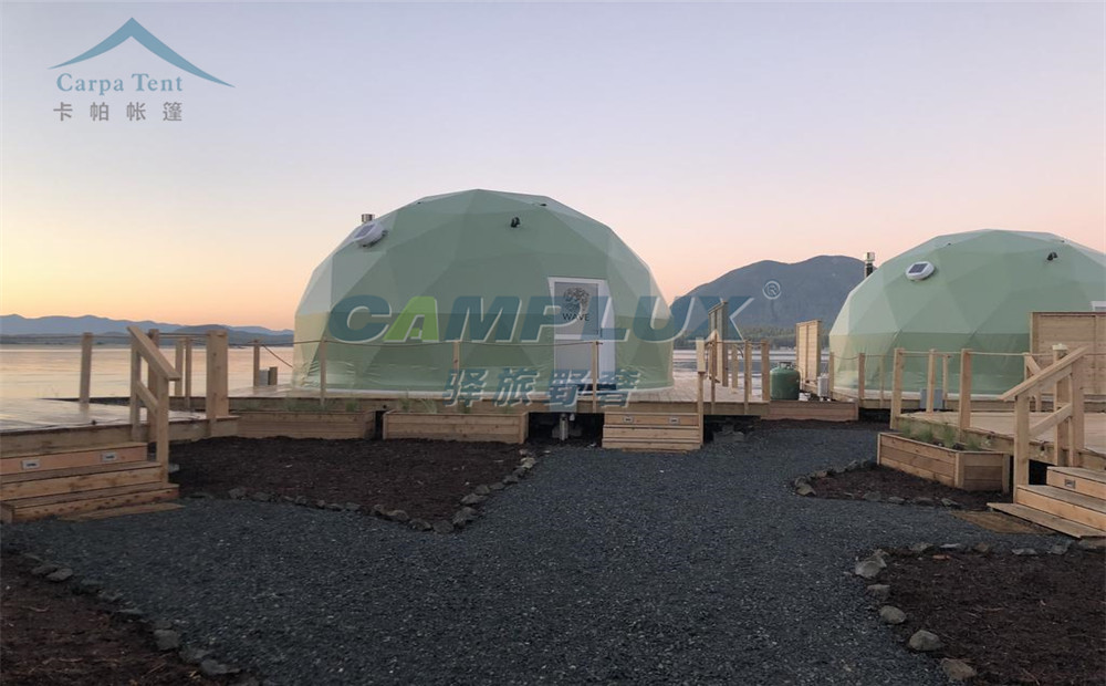 圆球形星空帐篷酒店-旅游度假野奢星空帐篷