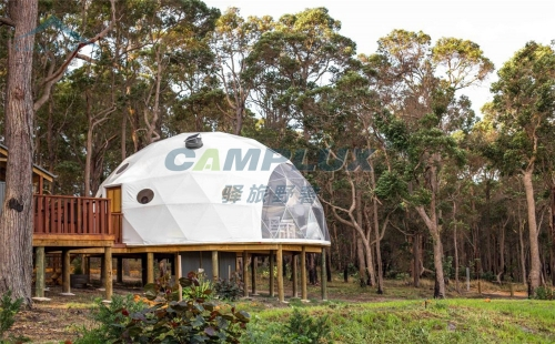 原生态网红星空帐篷厂家-球形星空帐篷设计定制