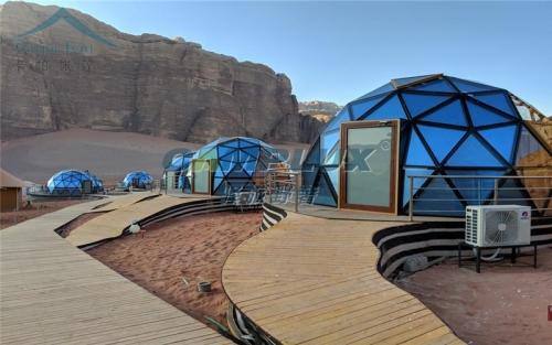 瓦迪拉姆玻璃球帐篷营地-玻璃球酒店帐篷定制厂家
