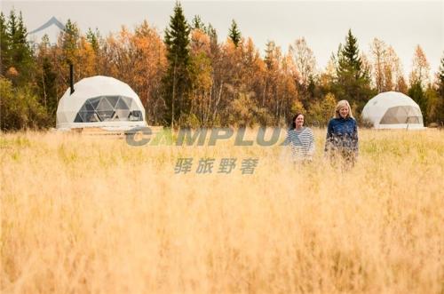 挪威度假营地星空帐篷酒店