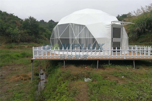美呆了的泸沽湖畔帐篷酒店