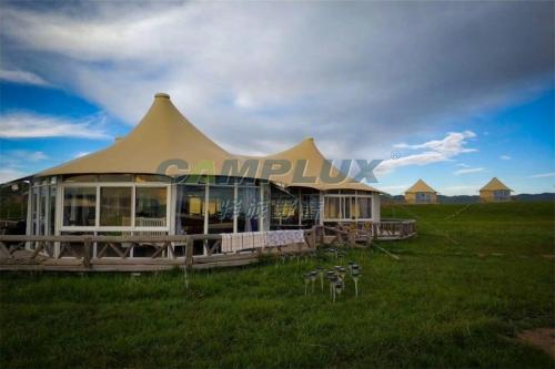 我国需尽快发展集成化帐篷酒店