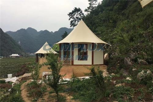 广州帐篷酒店给您一个融入大自然的私人空间