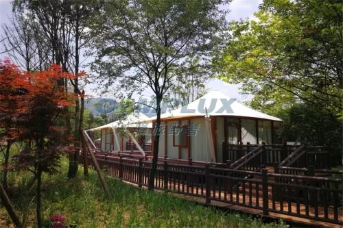 广州帐篷酒店处于蓬勃发展的阶段