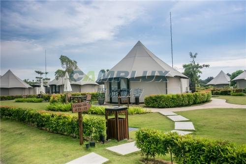 广州帐篷酒店适合应用的领域和优势!