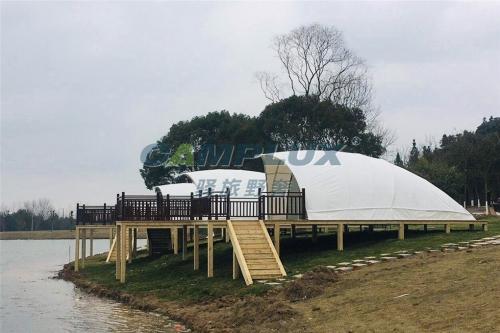 风魔全国的原生态帐篷酒店