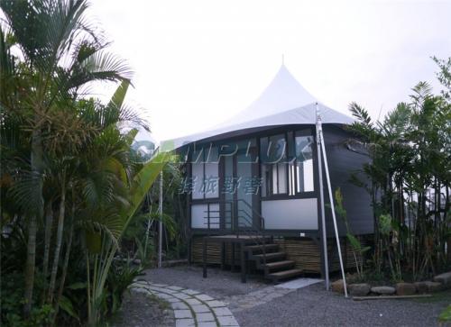 野外景区原生态野奢帐篷酒店-归隐大自然的豪华露营