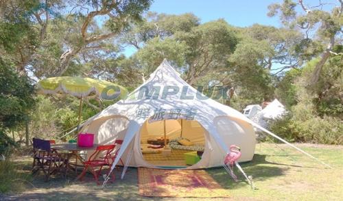 帐篷酒店为什么受景区欢迎?