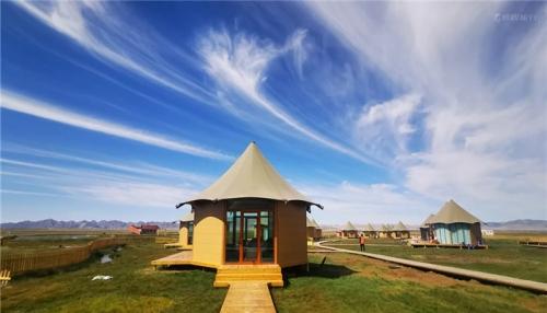 野奢帐篷民宿与大自然优美的环境密不可分