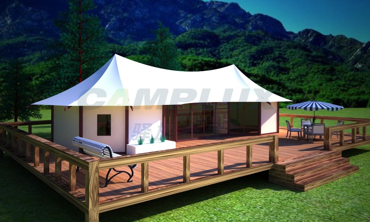 野奢双峰帐篷酒店