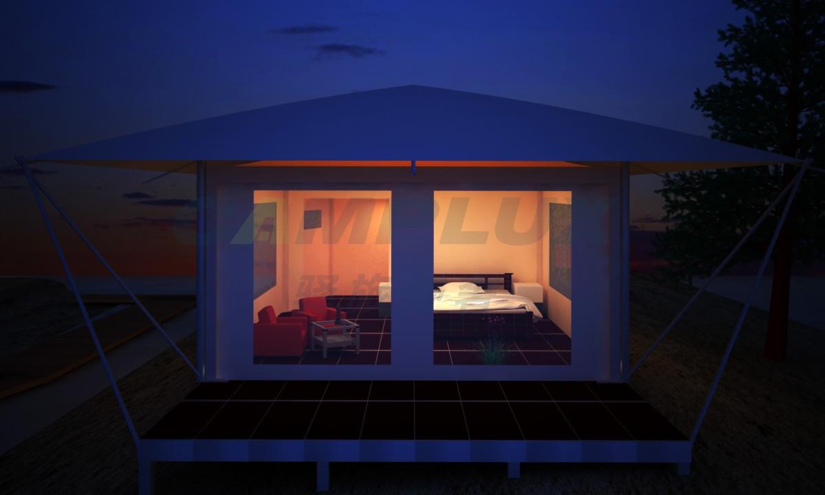 单峰帐篷酒店