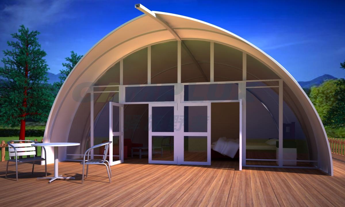 贝壳帐篷酒店
