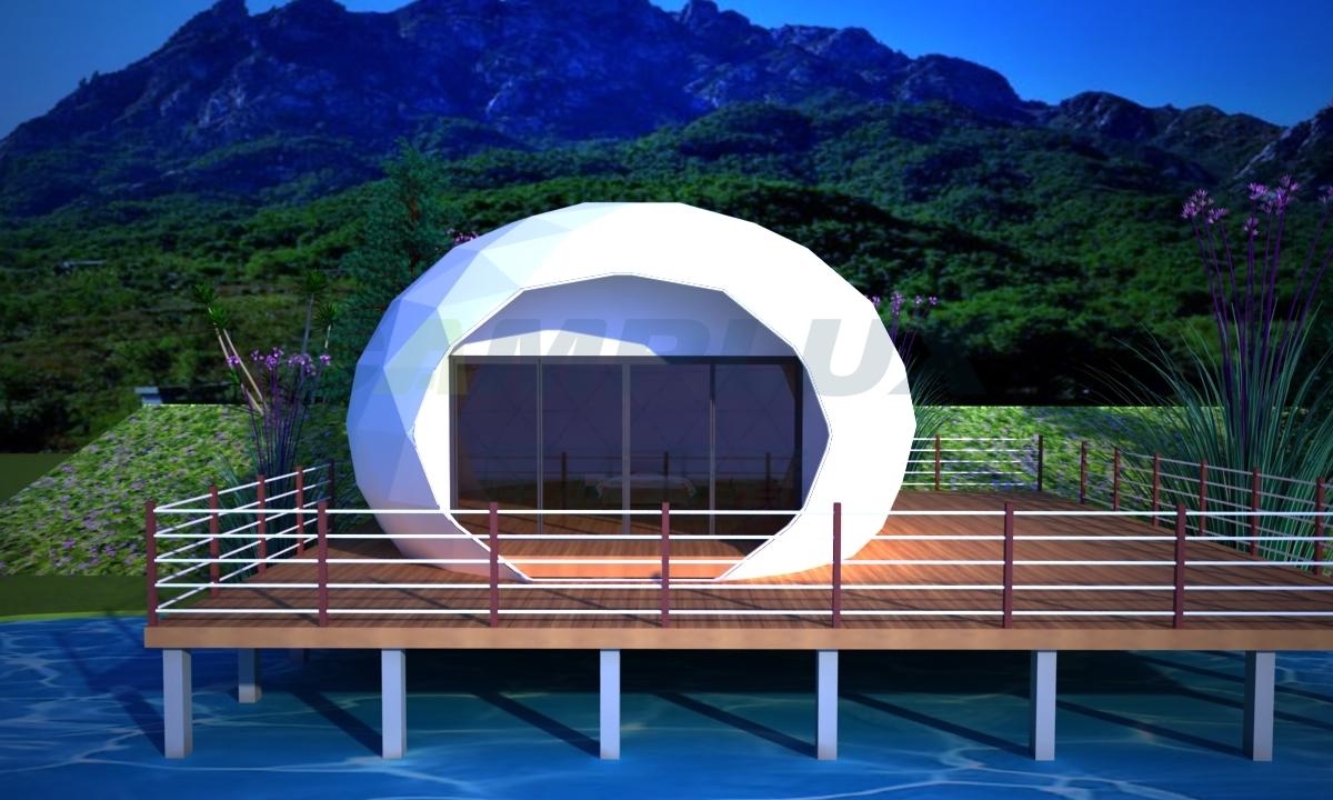 穹顶蛋型星空帐篷酒店